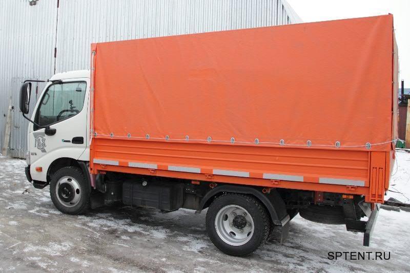 Изготовление тента на грузовик Hino