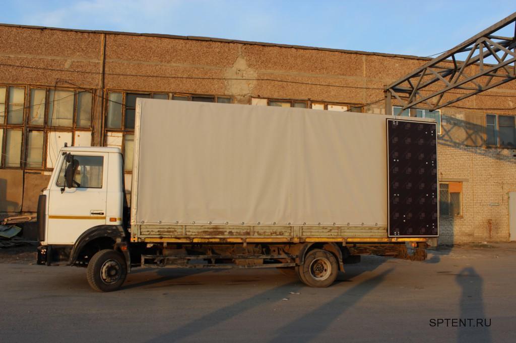 Тент, каркас и ворота на грузовой автомобиль