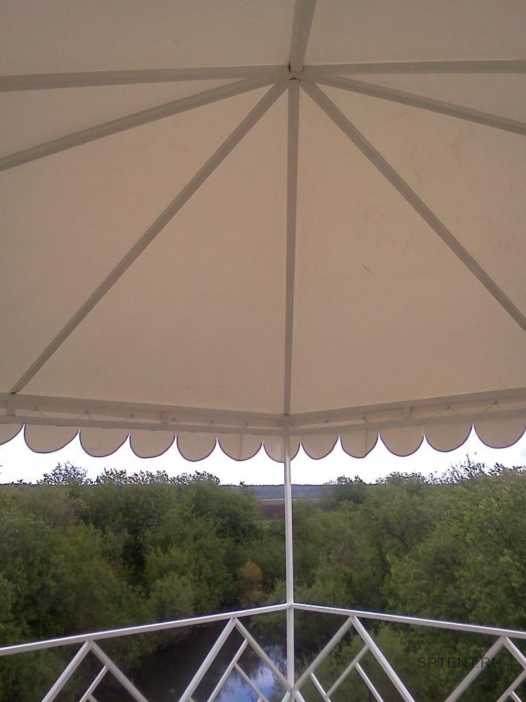 Крыша шатра-беседки из ткани-ПВХ