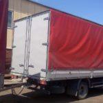 Изготовление и установка задних распашных ворот на грузовик МАЗ