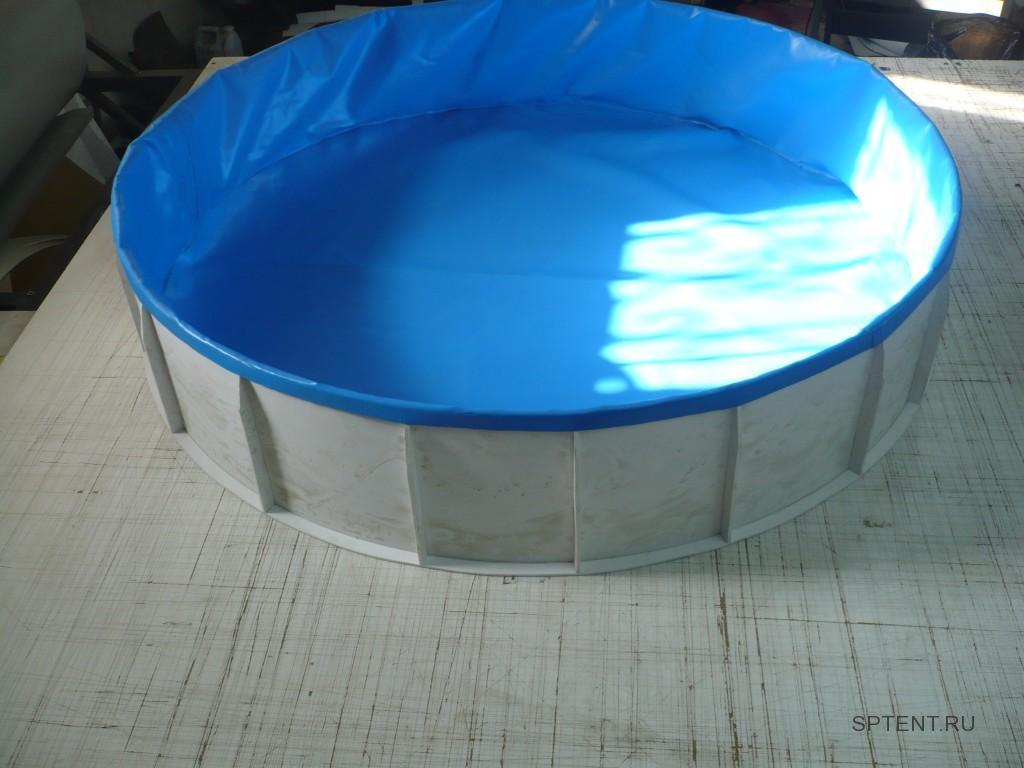 Изготовление чаши-вкладыша для бассейна