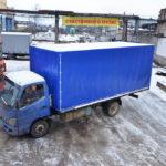 Грузовой автотент на грузовик Foton