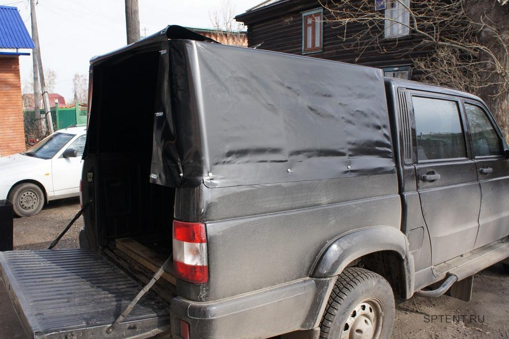 Изготовление тента на пикап УАЗ-Патриот с Санкт-Петербурге