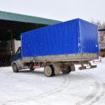 Тент на автомобиль «ГАЗ-Валдай»