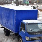 Тент на грузовик Foton в Спб