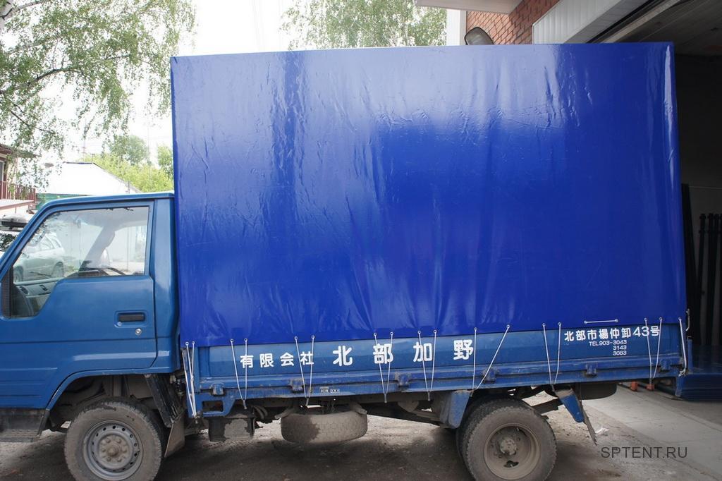 Изготовление высокого тента на грузовик Toyota Dyna в Санкт-Петербурге