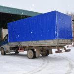 Тент на грузовой автомобиль «ГАЗ-Валдай»