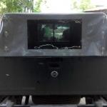 Тент для пикапа Nissan NP300 на каркасе с окном