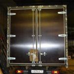 Ворота для грузовика Iveco Daily в Питере, изготовление и монтаж задних распашных ворот на грузовую машину Iveco Daily