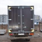 Ворота на тентовый фургон грузовика Hyundai HD65