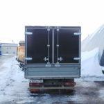 Задние распашные ворота на грузовик «Газель» 2,06х1,5 метра