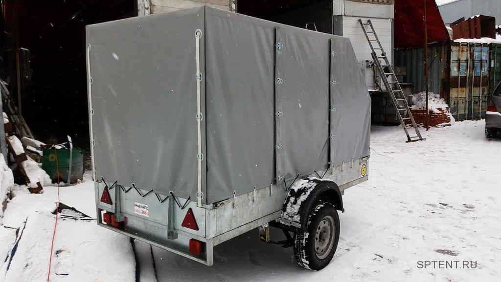 Изготовление тента на легковой прицеп САЗ 82994-02