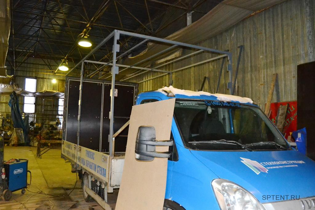 Каркас тента грузовика Iveco Daily в Санкт-Петербурге