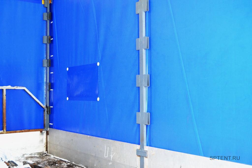 Карман с внутренней стороны тента для опалубки каркаса грузовика Iveco Daily в Спб