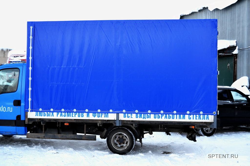 Изготовление тента для грузовика Iveco Daily в Спб