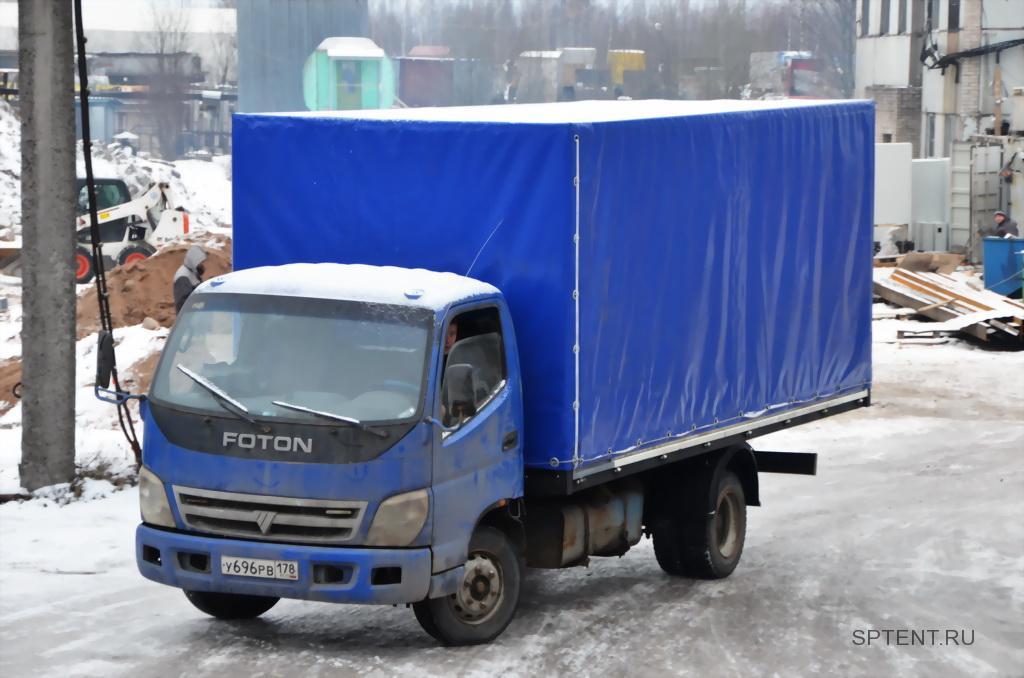Изготовление каркасно-тентовой надстройки на грузовой автомобиль Foton
