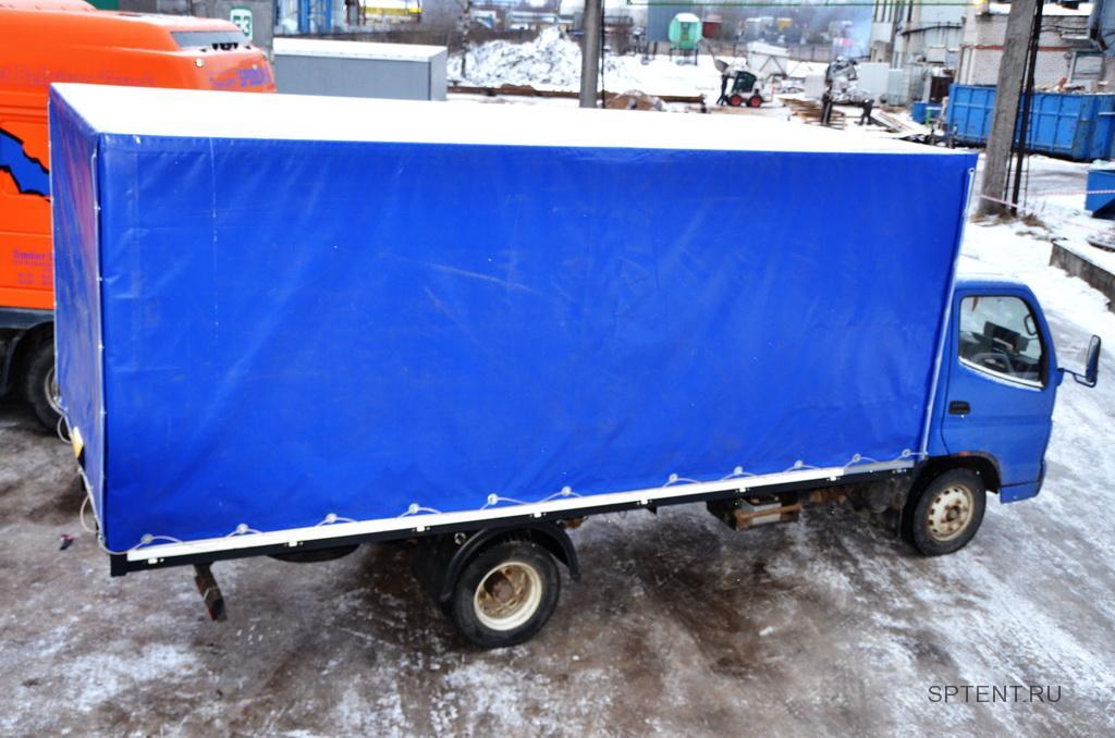 Изготовление увеличенного подрамника, каркаса и тента на грузовой автомобиль Foton в Санкт-Петербурге