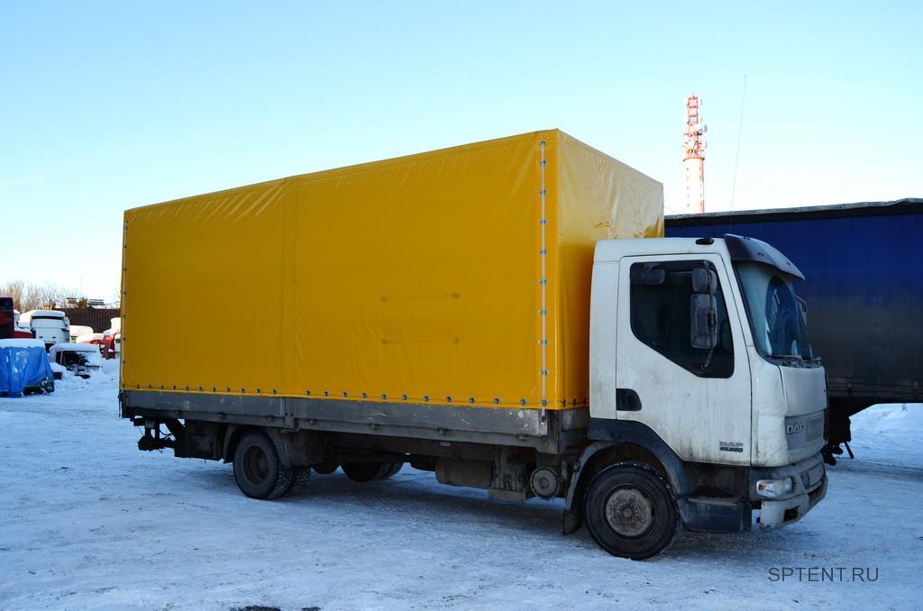 Тент на грузовик DAF LF, изготовление тента на грузовик в Спб