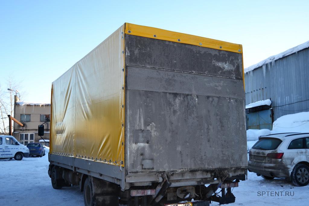 Тент на грузовой автомобиль DAF LF в Санкт-Петербурге