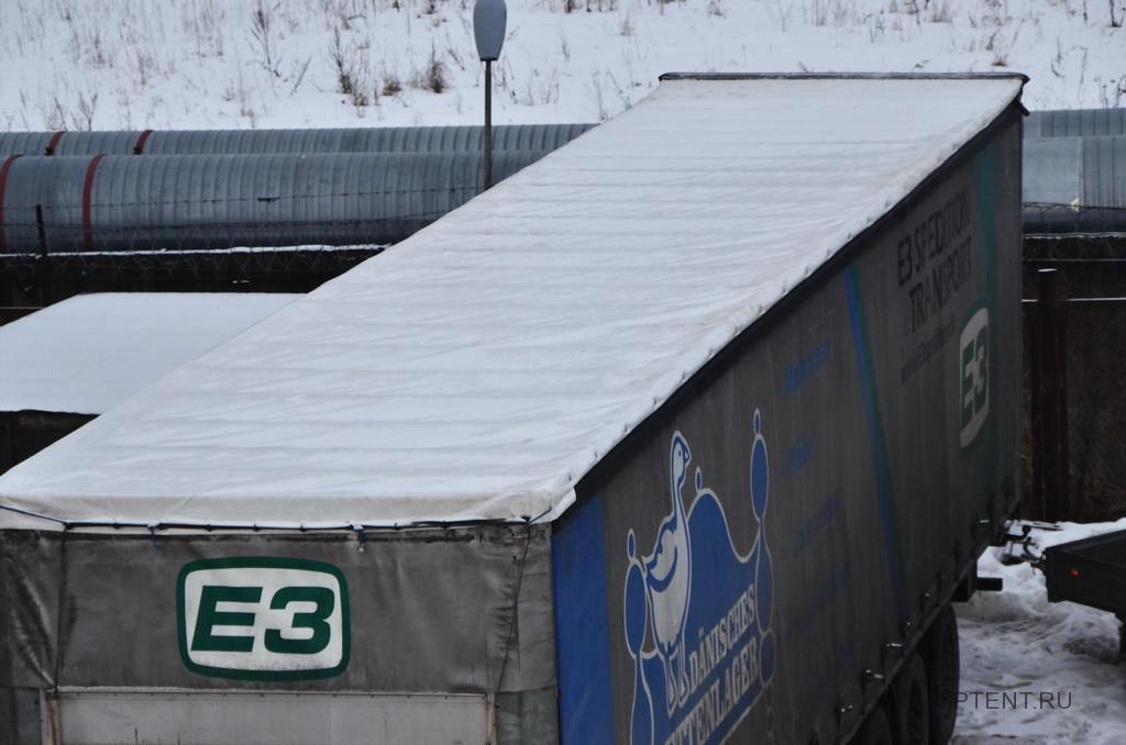 Замена сдвижной крыши на полуприцепе Schmitz, 13,6 метров в Спб