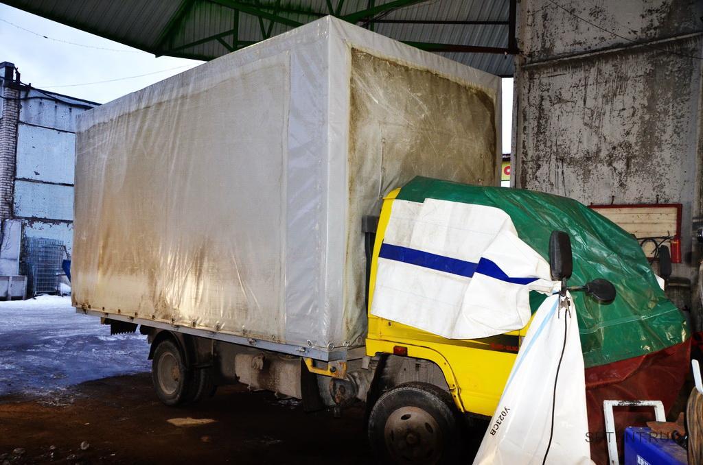 Увеличение каркаса и тента на грузовик Baw Fenix
