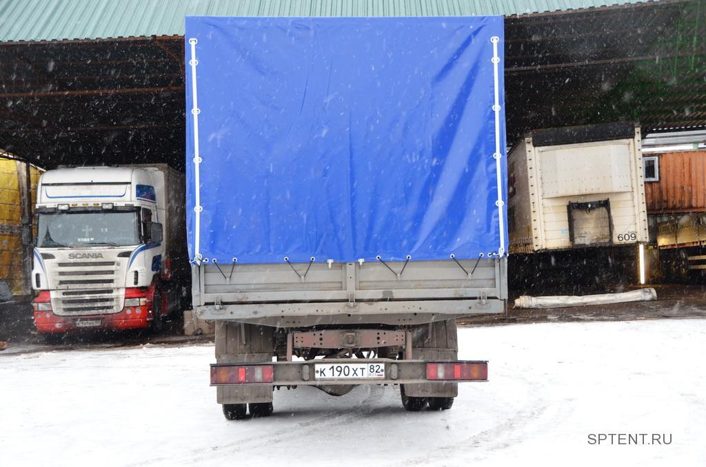Изготовление каркаса и тента на ГАЗ-33104 в Санкт-Петербурге