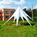 Вантовый шатер белый в Санкт-Петербурге