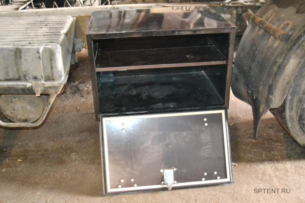 Инструментальный ящик для полуприцепа, 100*60*60 см