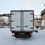 Изотермические ворота на грузовик Isuzu