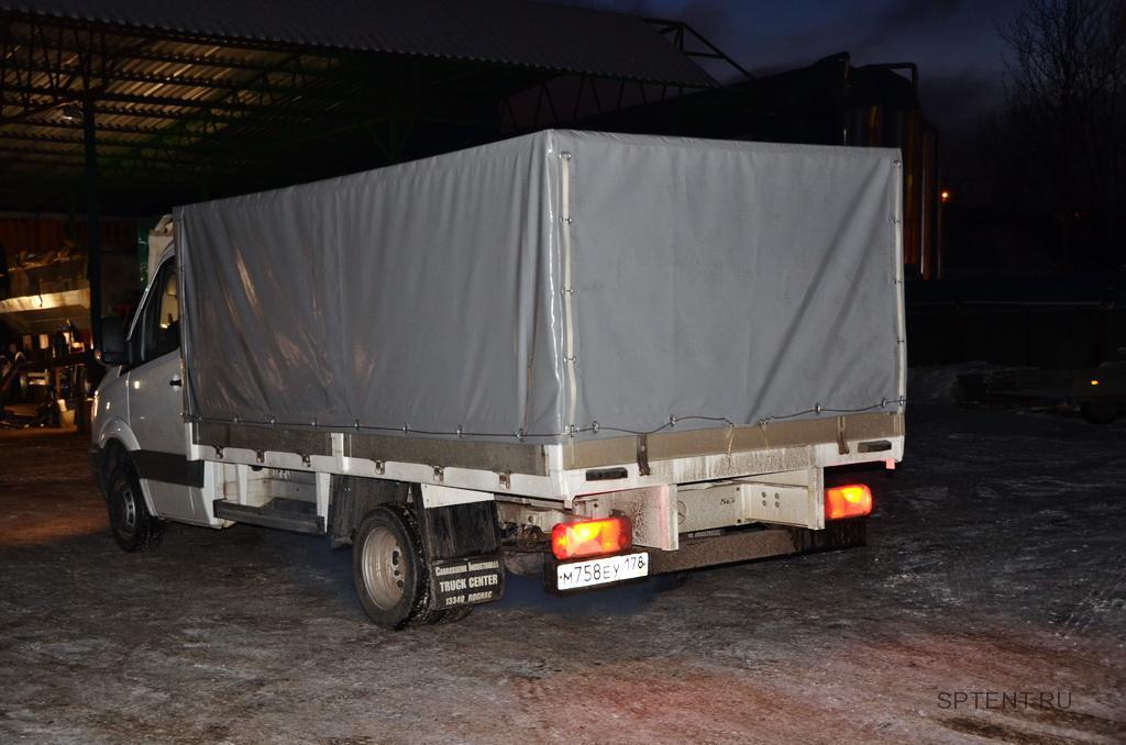 Каркас и тент на грузовой автомобиль Mercedes Sprinter