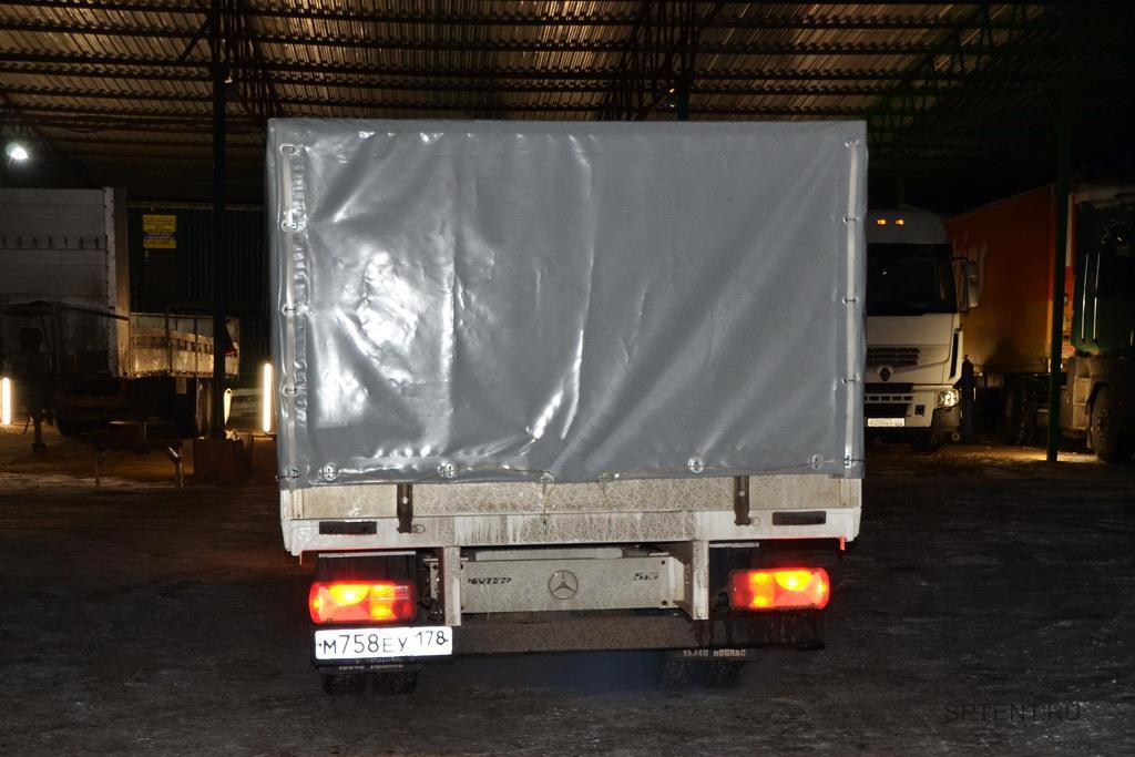 Тент для грузовика Mercedes Sprinter