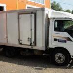 Двери на будку грузовика