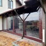 Мягкие окна для навеса