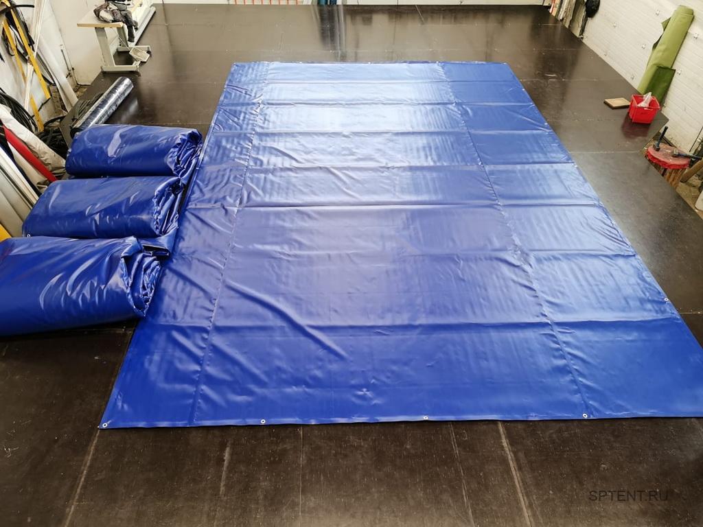 Изготовление утепленных пологов-ПВХ 6х4 метра